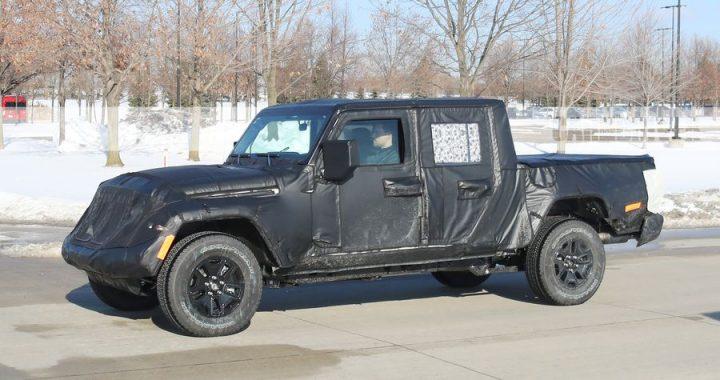 La camioneta pickup Jeep Scrambler está cerca y podría llamarse Gladiador