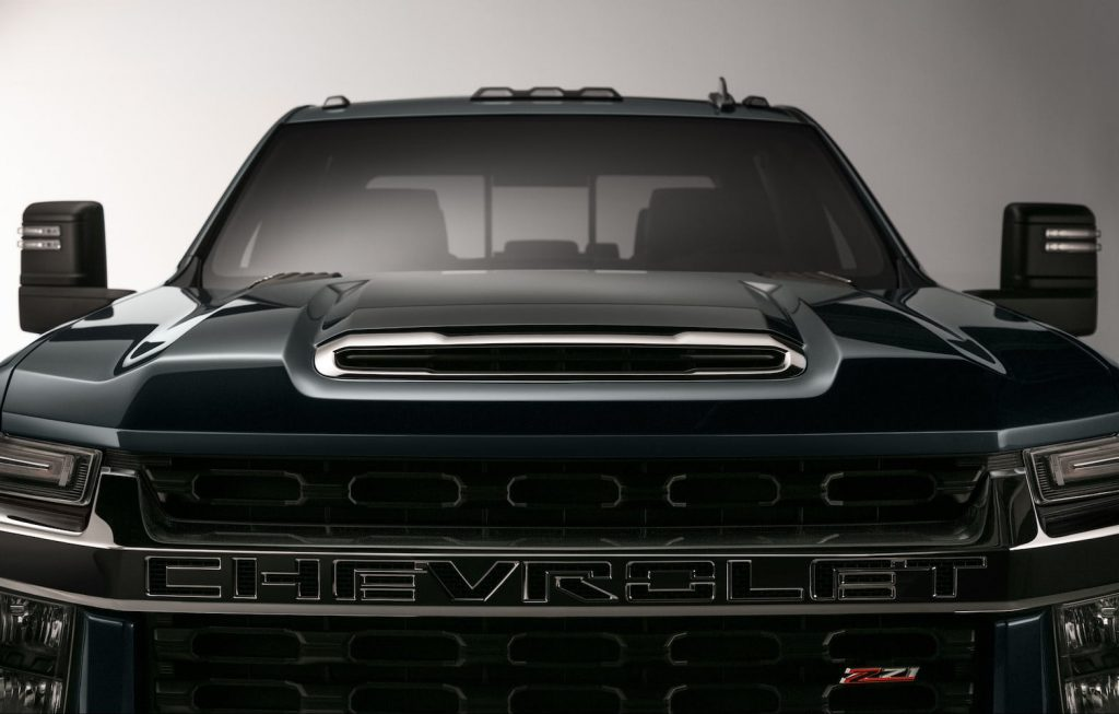 Vistazo del Chevrolet Silverado HD 2020