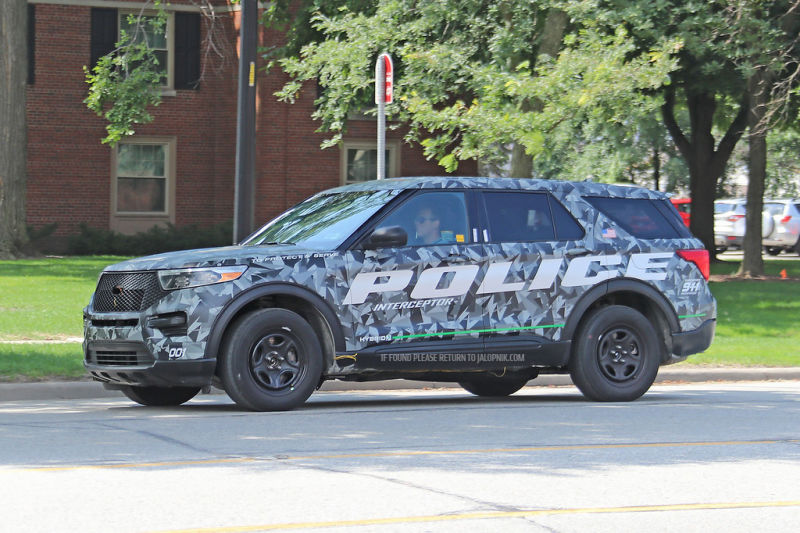 Ford Explorer 2020 Police Interceptor