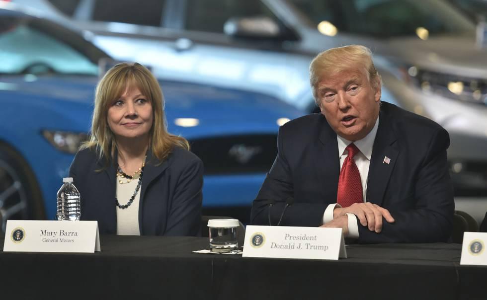 Trump amenaza al consorcio GM de pagar el dinero que le debe al gobierno y los nuevos impuestos