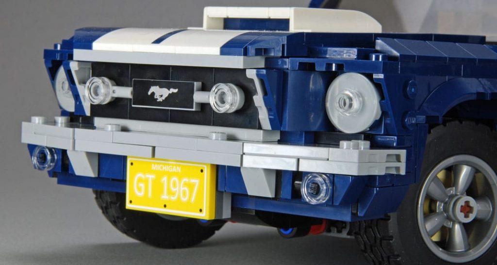 Lego Mustang Flashback 1967