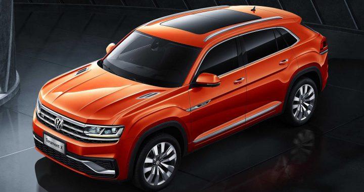 Esta es la versión de dos filas prometida de Volkswagen: el Teramont X