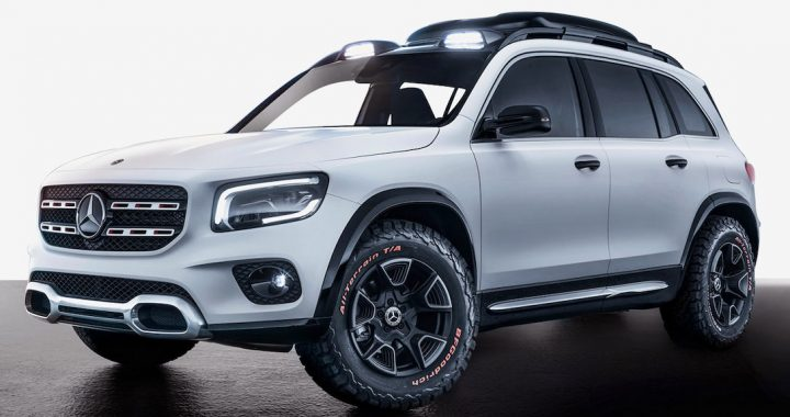 ¿Es el Mercedes-Benz Concept GLB un Mini G-Wagen?
