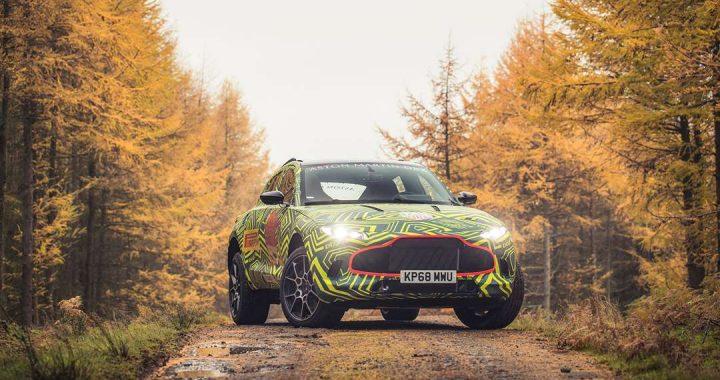 Nuevos detalles del SUV Aston Martin DBX revelados por el prototipo de preproducción