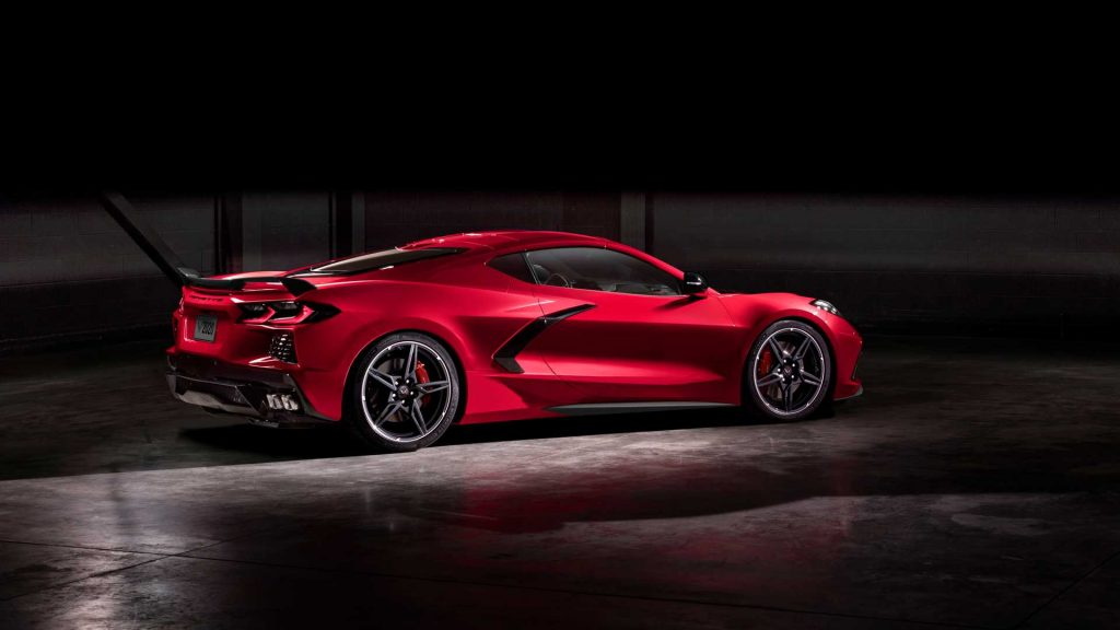 Chevrolet Corvette Stingray 2020 rojo