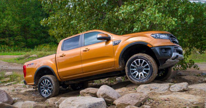 Ford Ranger y el kit de suspensión F-150 mejoran la capacidad todoterreno