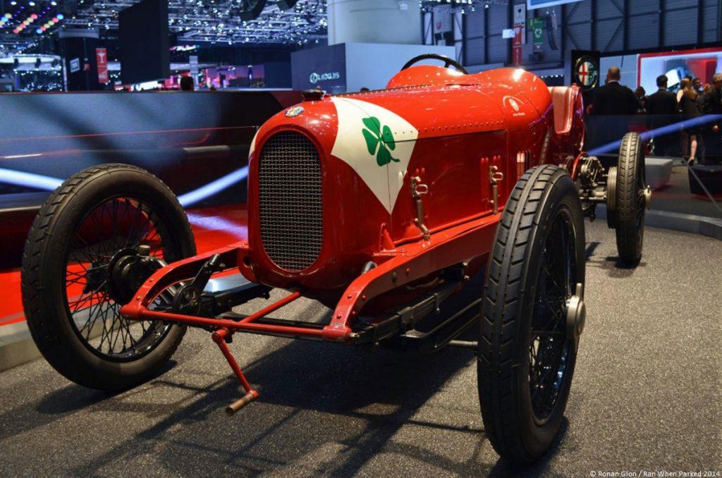 Alfa Romeo Quadrifoglio 1923