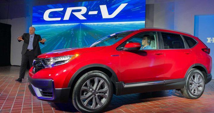 El Honda CR-V 2020 agrega un modelo híbrido y obtiene una nueva apariencia