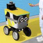 Las entregas de robots podrían terminar siendo comunes después del coronavirus