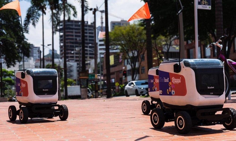 Robots de Rappi en las calles de Colombia