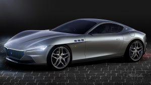 Maserati Granturismo 2022 gris eléctrico o híbrido