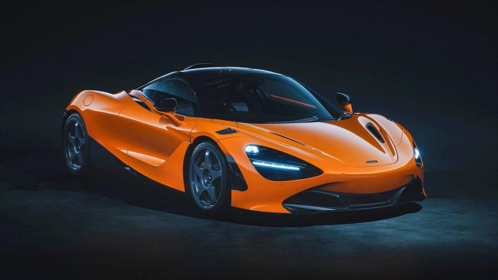 Mclaren 720s le mans special edition revelado color naranja